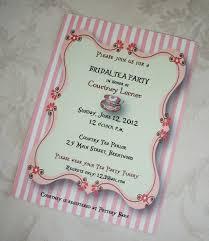 bridal shower tea party invitations cloveranddot com