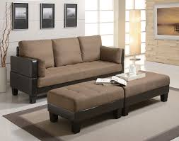 Sofa Sleepers by Two Tone Futon Contemporary Sofa Bed Group With 2 Ottomans Living