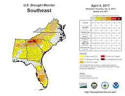 Southeast Florida Map by Drought March 2017 State Of The Climate National Centers For