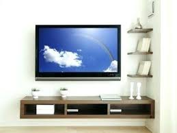wall mounted av cabinet furniture under wall mounted tv rustic unpolished wood wall mounted