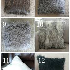 Pottery Barn Faux Fur Pillow Best Faux Fur Throw Pillows Products On Wanelo