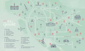Washington Dc Monument Map by Washington D C Map U2013 Erin Hollen