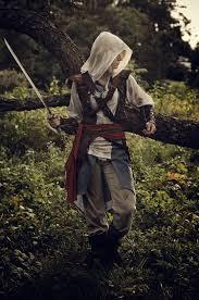 Edward Kenway Halloween Costume Assassin U0027s Creed Black Flag Cosplay Alexa Karii Assassins