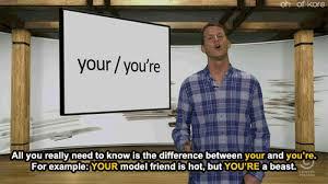Tosh 0 Meme - funny mine hilarious grammar comedy central daniel tosh your tosh 0