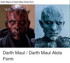 Darth Maul Meme - darth maul vs darth maul alola form pokemon meme on esmemes com