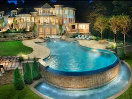 cool houses with pools home design ideas