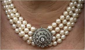 big pearl choker necklace images From her majesty 39 s jewel vault the duchess of cornwall 39 s four jpg
