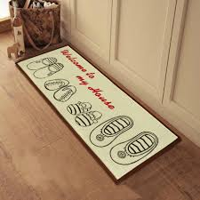 funny welcome mat shoes off btches doormat hand painted outdoor