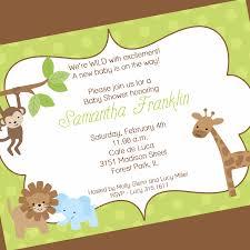 jungle theme baby shower invitation wording theruntime com