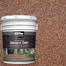 Concrete Patio Floor Paint Ideas by Behr Premium 5 Gal Gg 09 Sunset Ridge Decorative Concrete Floor