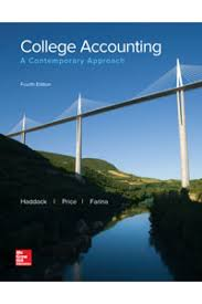 solution manual for college accounting 4th edition by haddock for