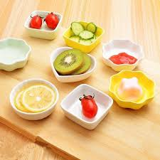 ceramics salad dipping dish colorful jam dip dish assorted sauce