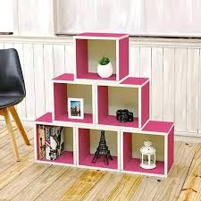 Pink Bookcase Ikea Bookcase Stackable Cube Shelves Ikea Stackable Bookcase Cubes