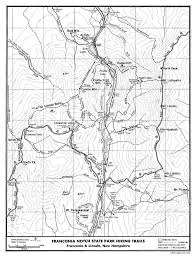 Appalachian Trail Massachusetts Map by Trail Maps