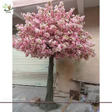 uvg event supplier make artificial trees in silk cherry