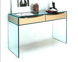 bureau verre trempé bureau en verre trempe insert bois lobby noir conforama bim a co