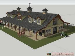 Free Barn Plans Hb100 Horse Barn Plans Horse Barn Design Shed Plans Ideas