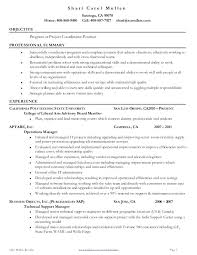 project coordinator resume project coordinator resume shalomhouse us