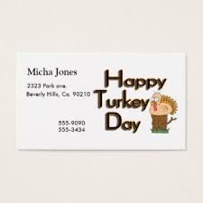 thanksgiving business cards templates zazzle