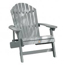 Grey Adirondack Chairs King Hamilton Folding U0026 Reclining Adirondack Chair Outdoor