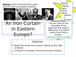 What Is The Iron Curtain Speech The Iron Curtain Cold War By Heatherymango Teaching Resources Tes