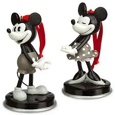 mickey and minnie 1928 ornament set mickey fix