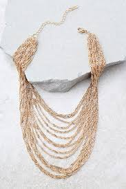 choker gold necklace images Chic gold necklace layered chain choker gold choker 13 00 jpg