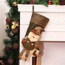 christmas stockings vintage large handmade craft fillers socks