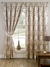 Curtain Pleating Tape Stylish Pencil Pleat Tape Top Lined Flower Pattern Pair Of