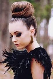 big bun hair dramatic style type howtowear fashion