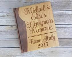 honeymoon photo album rome honeymoon album etsy