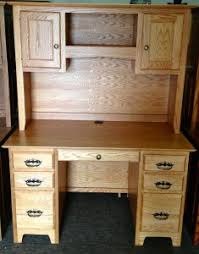 Executive Desk With Hutch Desks Amish Traditions Wv