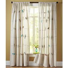 Teal Bird Curtains Applique Birds On A Wire Curtain Bird Sunrooms And Nursery