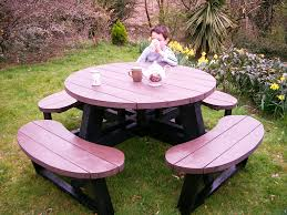 wooden picnic bench uk bench decoration