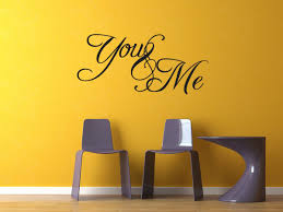 amazon com you and me bedroom vinyl wall decal sticker quote art amazon com you and me bedroom vinyl wall decal sticker quote art love saying home kitchen