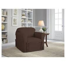 Slipcover For Oversized Chair And Ottoman by Chair Slipcovers Target