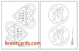 printable veterans day cards printable thank you cards for kids to color free card design ideas
