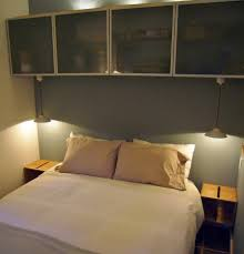 Box Bed Designs In Wood With Storage Contemporary Bedroom With Ikea Storage Bins Screwed Into The Wall
