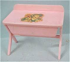 Doll Changing Tables Vintage Doll Changing Tables Renwal Baby Changing Table Bath