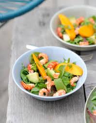 cuisiner pour 10 personnes salade de pousses aux écrevisses pour 10 personnes recettes à
