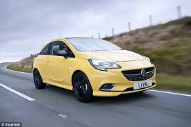 vauxhall names yellow paint maddox after car colour victim this