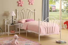Girls White Twin Bed White Metal Twin Bed Frame Ideas Chic White Metal Twin Bed Frame