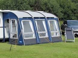 Glossop Caravans Awnings Kampa Rally All Season 390 Caravan Poled Porch Awning Ebay