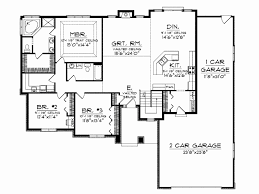 ranch floor plans with 3 car garage 1 story house plans with 3 car garage luxury floor plan home fit