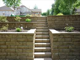 ideas retaining wall ideas for attractive garden landscape