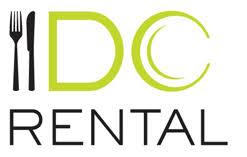 table rentals dc dc logo cut png