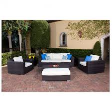Source Outdoor Patio Furniture Source Outdoor King All Weather Wicker 5 Piece Lounge Set Patio Lane
