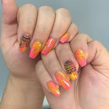 22 fall nail designs acrylic nails cute fall nail artquot quot