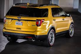 Ford Escape Yellow - ford photos sema 2015