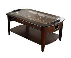 man cave coffee table every man cave needs a foosball coffee table